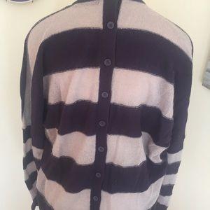 L.A.M.B. Sweaters - L.A.M.B. Oversized Striped Sweater